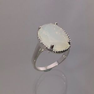 Jewelry - 3 For $18 925 Sterling Silver Moonstone Ring